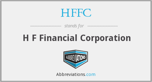 HFFC - H F Financial Corporation