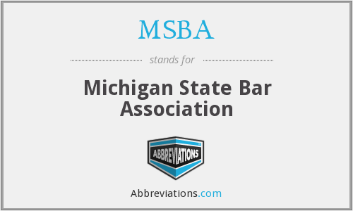MSBA - Michigan State Bar Association