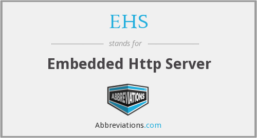 EHS - Embedded Http Server