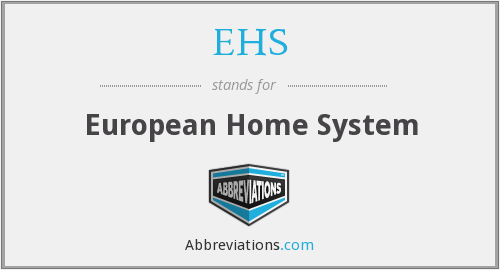 EHS - European Home System