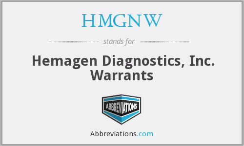 What does HMGNW stand for?