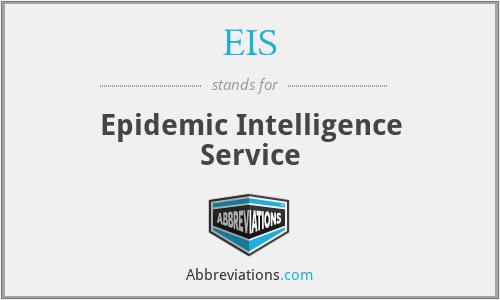 EIS - Epidemic Intelligence Service