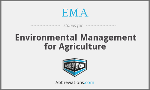 EMA - Environmental Management for Agriculture