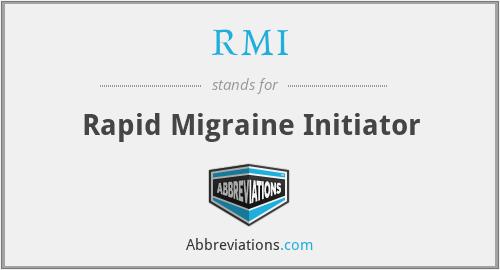 RMI - Rapid Migraine Initiator