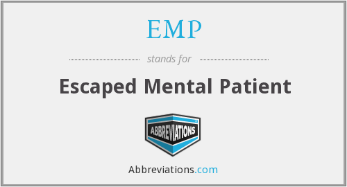 EMP - Escaped Mental Patient