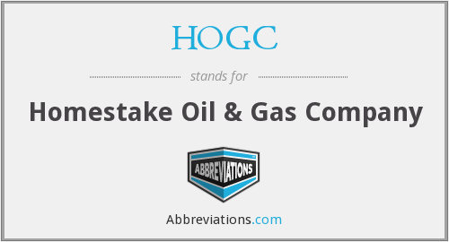What does HOGC stand for?
