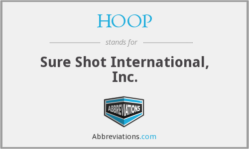 HOOP - Sure Shot International, Inc.