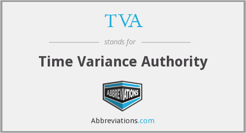 TVA - Time Variance Authority