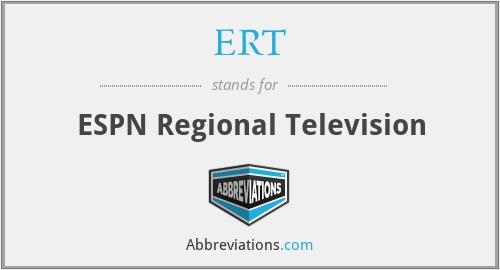 ERT - ESPN Regional Television