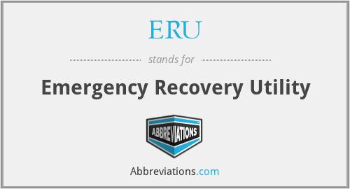 ERU - Emergency Recovery Utility