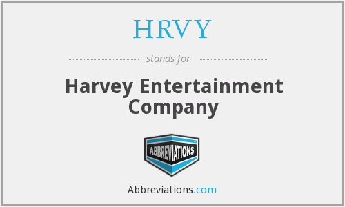 What does HRVY stand for?