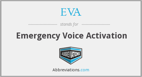 EVA - Emergency Voice Activation