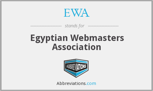 EWA - Egyptian Webmasters Association