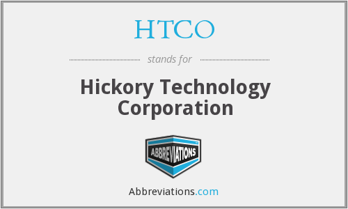 HTCO - Hickory Technology Corporation