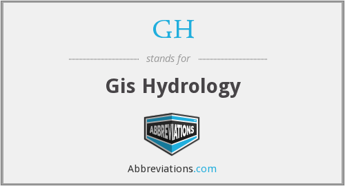 GH - Gis Hydrology
