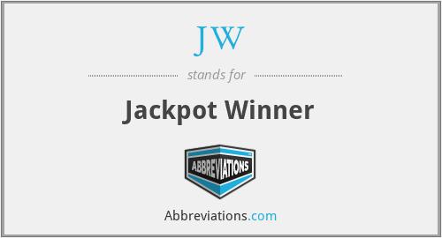 JW - Jackpot Winner