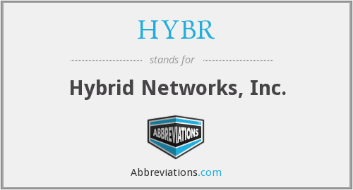 HYBR - Hybrid Networks, Inc.