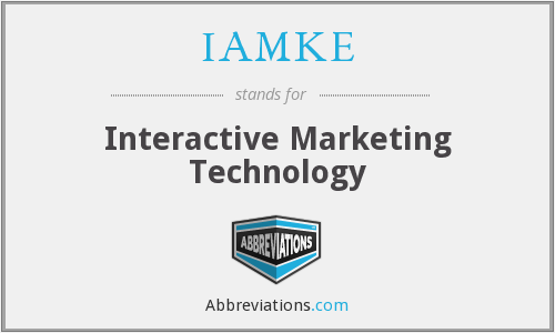 What does IAMKE stand for?