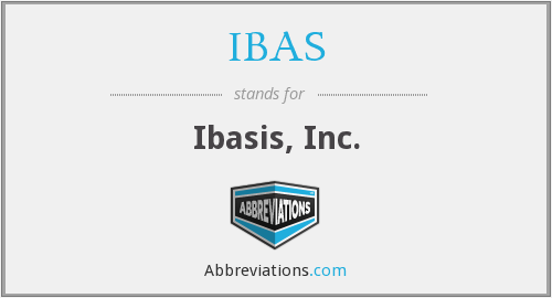 What does IBAS stand for?