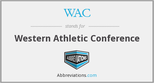 WAC - Western Athletic Conference