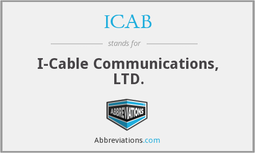 What does ICAB stand for?