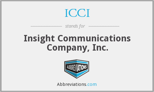 What does ICCI stand for?
