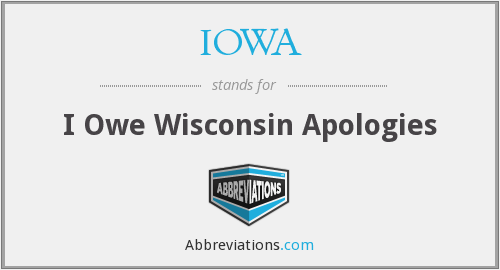 What does apologies stand for?