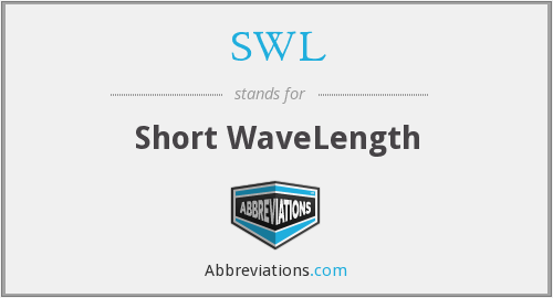 SWL - Short WaveLength