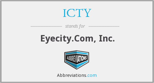 What does ICTY stand for?