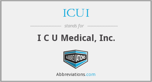 What does ICUI stand for?