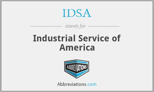 IDSA - Industrial Service of America