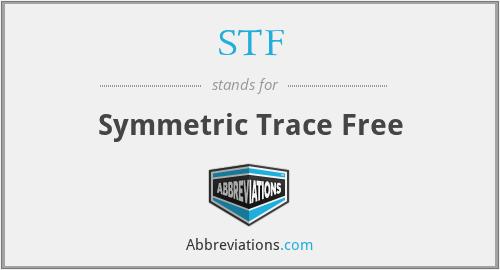 STF - Symmetric Trace Free