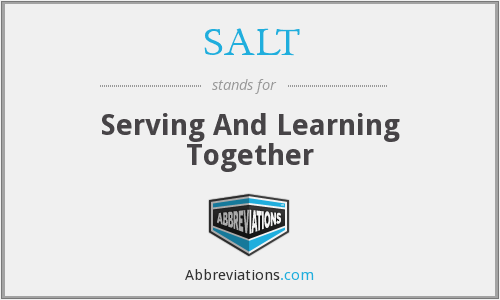 SALT - Serving And Learning Together