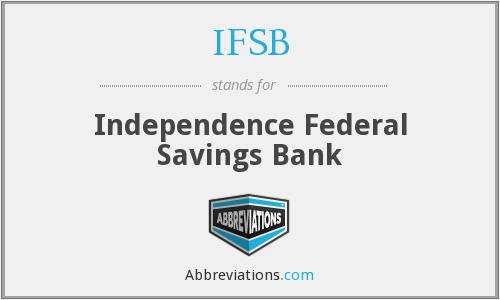 IFSB - Independence Federal Savings Bank