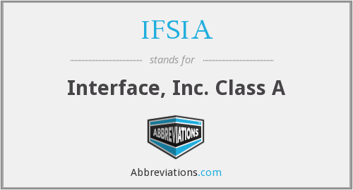 What does IFSIA stand for?