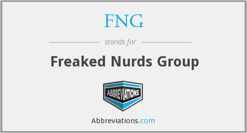 FNG - Freaked Nurds Group
