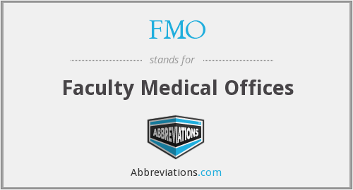 FMO - Faculty Medical Offices
