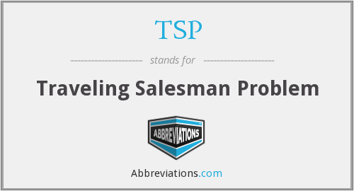 TSP - Traveling Salesman Problem