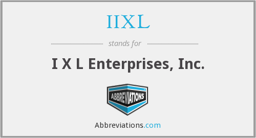 What does IIXL stand for?