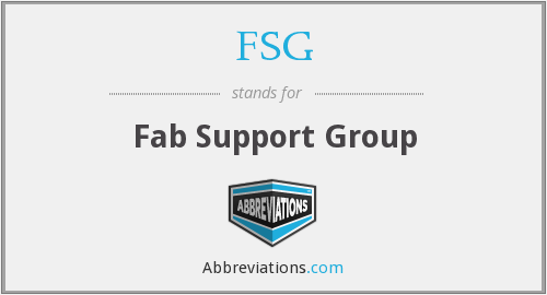 FSG - Fab Support Group