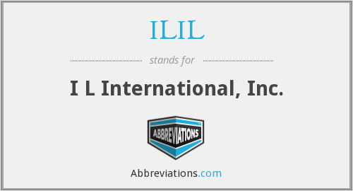 What does ILIL stand for?