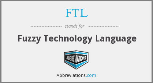 FTL - Fuzzy Technology Language