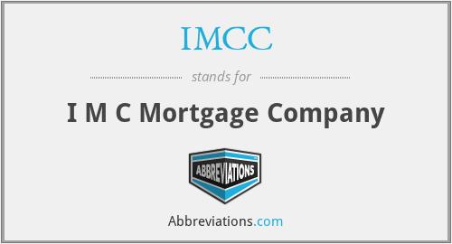 IMCC - I M C Mortgage Company