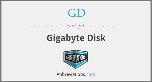 GD - Gigabyte Disk