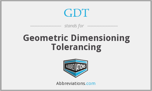 GDT - Geometric Dimensioning Tolerancing