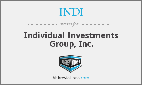 What does INDI stand for?