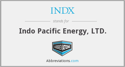 INDX - Indo Pacific Energy, LTD.