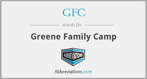 GFC - Greene Family Camp