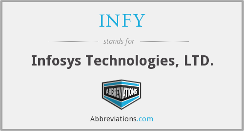 What does INFY stand for?