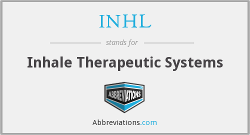 INHL - Inhale Therapeutic Systems